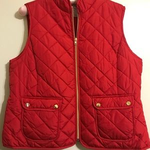 St. John's Bay Quilted Puffer Vest